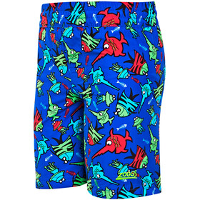 Zoggs Sea Saw Water Shorts Pojkar blue/multi